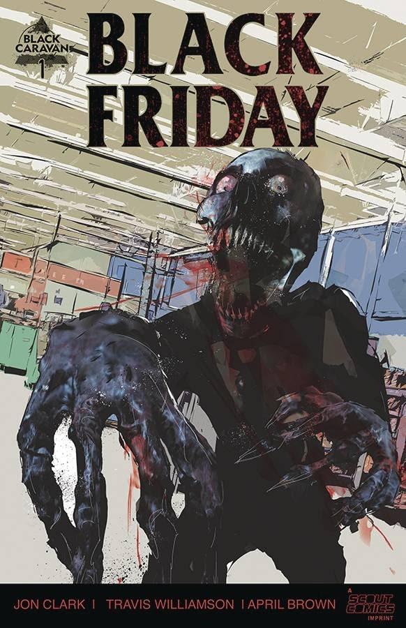 Black Friday #1 Comic Book