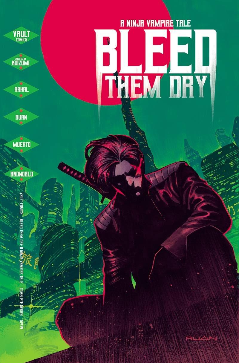 Bleed Them Dry Graphic Novel
