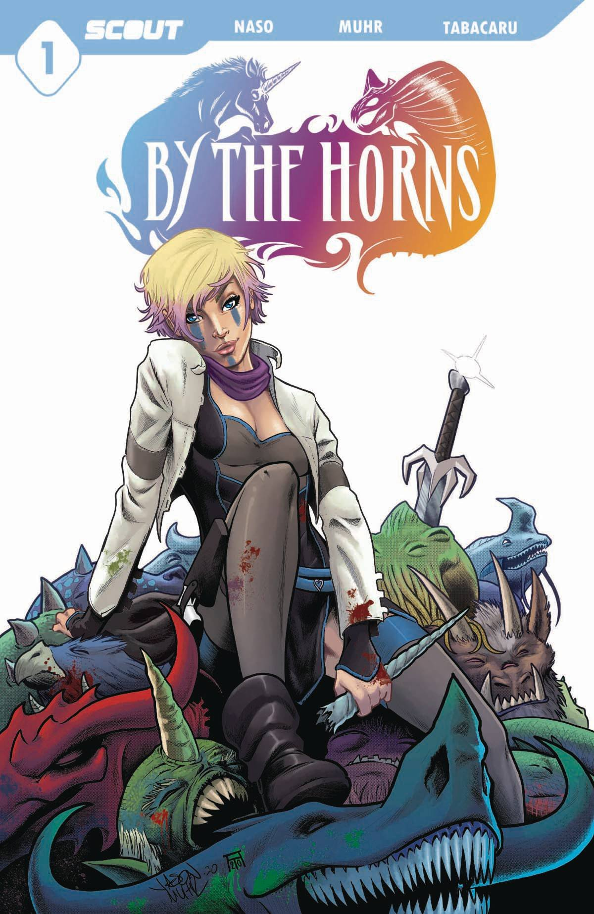 By The Horns #1 Comic Book