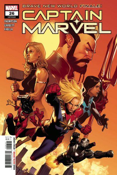 Captain Marvel #26 - Brave New World Finale