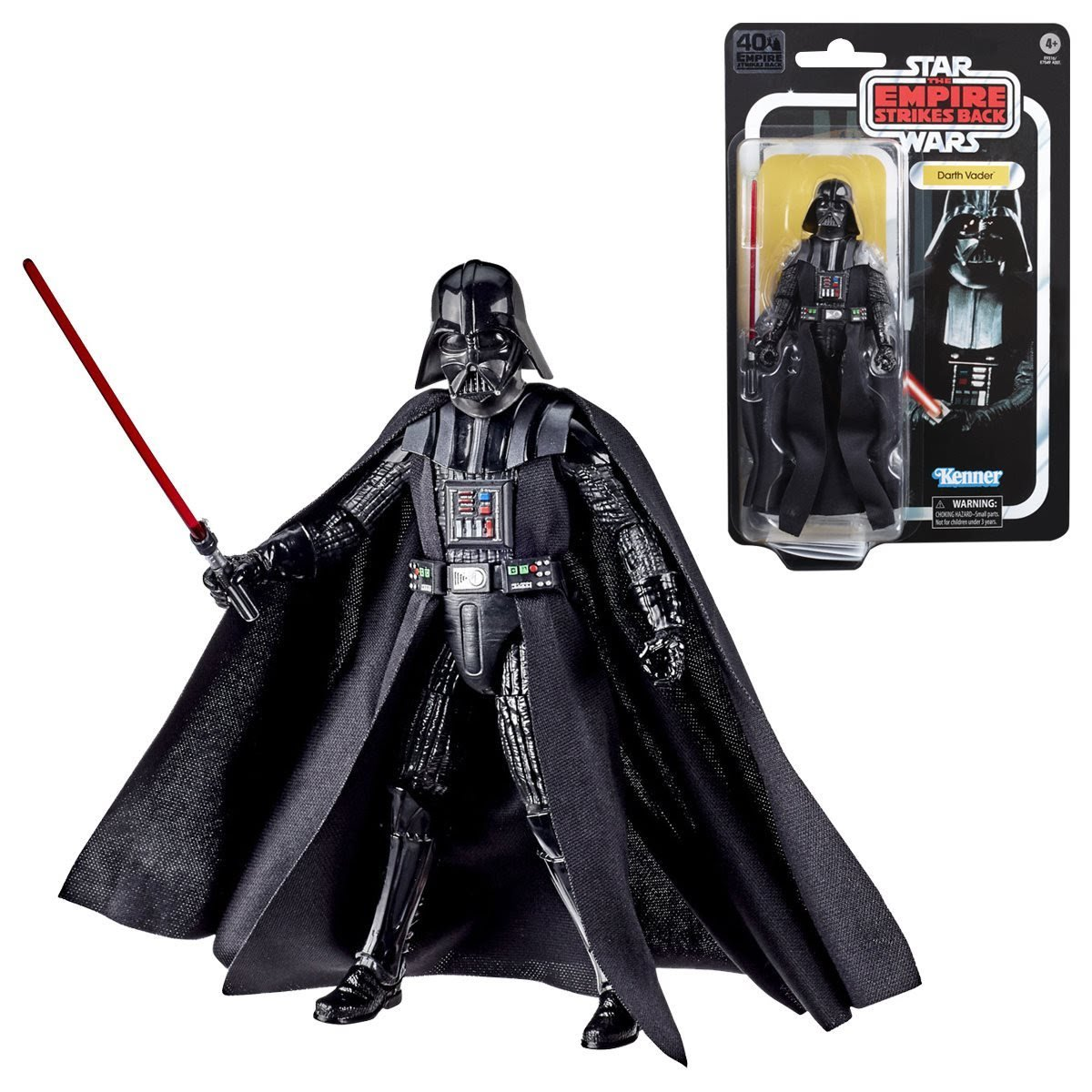 Darth Vader - The Black Series 40th Anniversary Action Figure