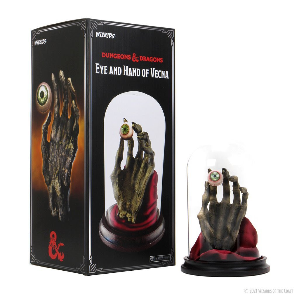 Dungeons and Dragons - Icons of The Realms - Eye and Hand of Vecna | Games