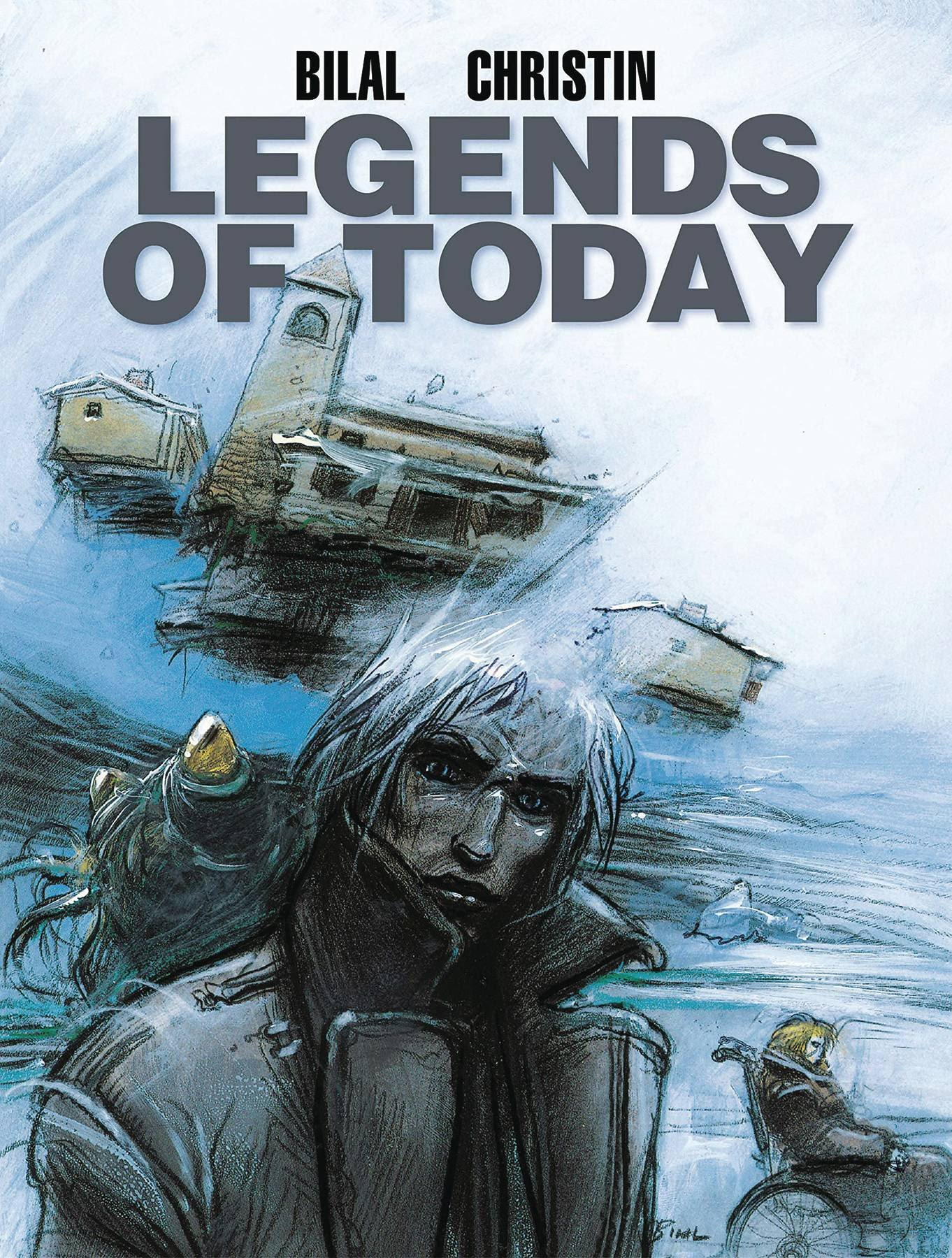 Legends of Today by Enki Bilal - a hardcover book