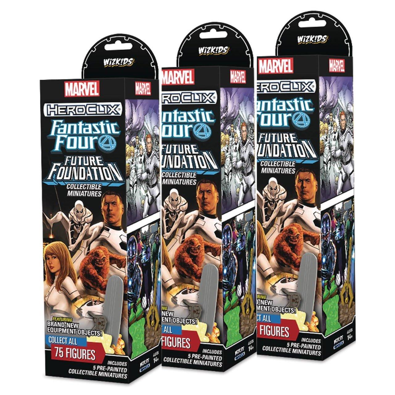 Marvel Heroclix Fantastic Four Future Foundation Game