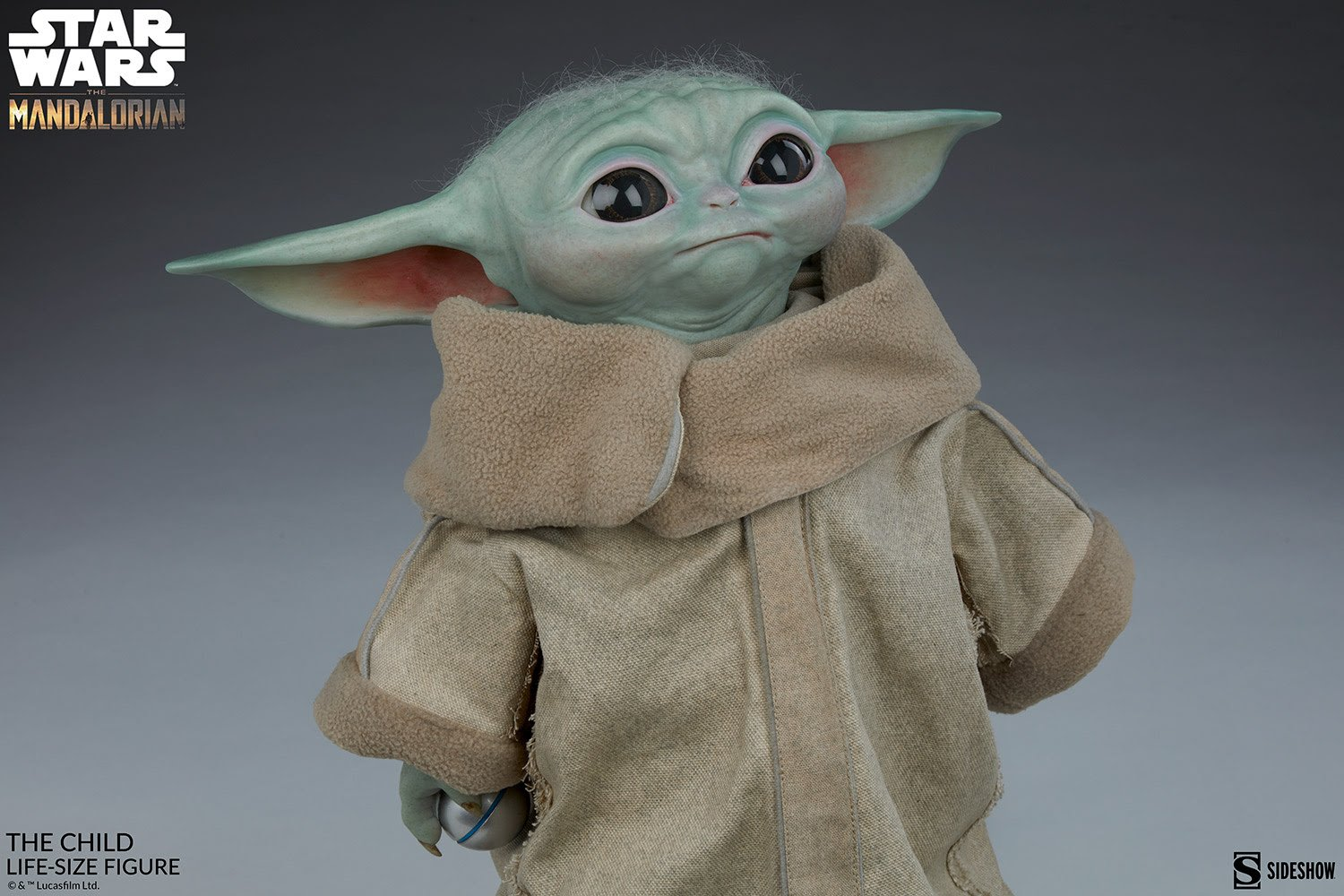 Star Wars The Child - Life Size Figure from Sideshow - Restocked