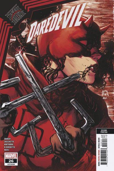 Daredevil #26 | Second Printing