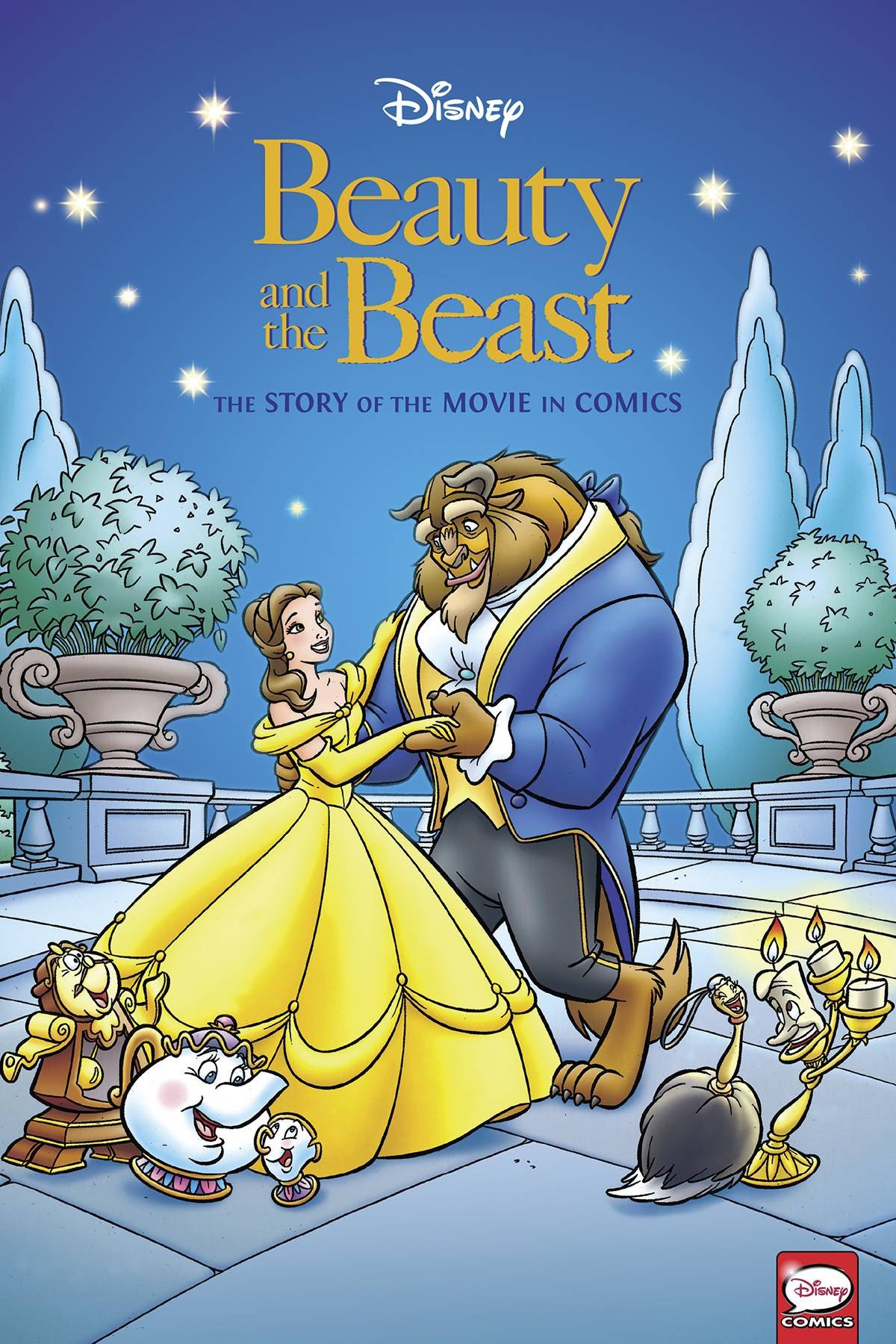 Disney's Beauty and the Beast | Story of the Movie in Comics