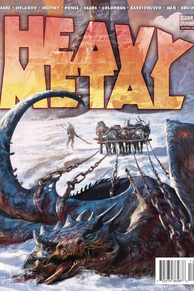 Heavy Metal Magazine Issue 304