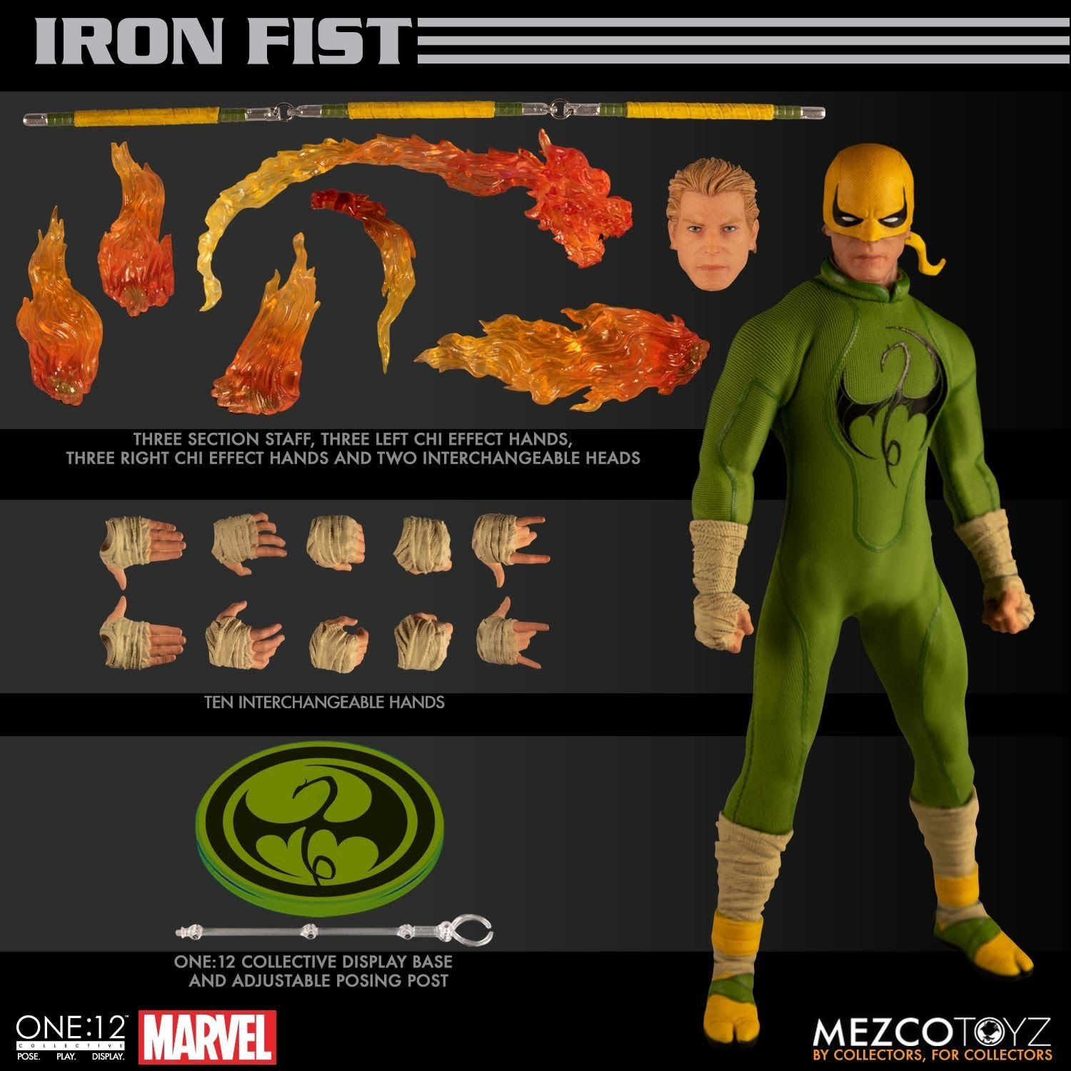 Iron Fist Collective Action Figure by Mezco