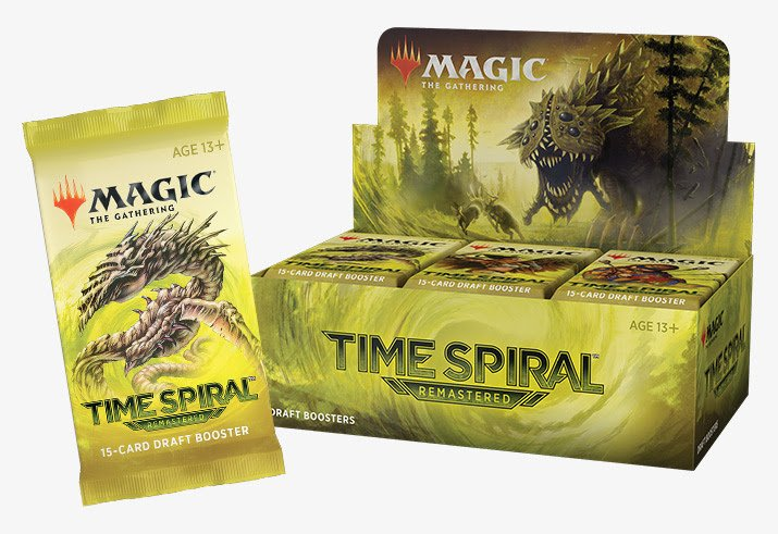 Time Spiral Remastered Draft Boosters | Magic the Gathering (MTG)
