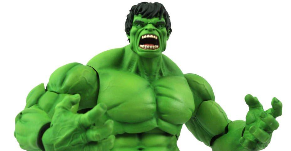 Rampaging Hulk Action Figure | Marvel Select