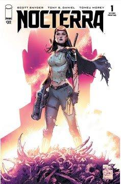 Nocterra #1 Comic Book - Second Printing