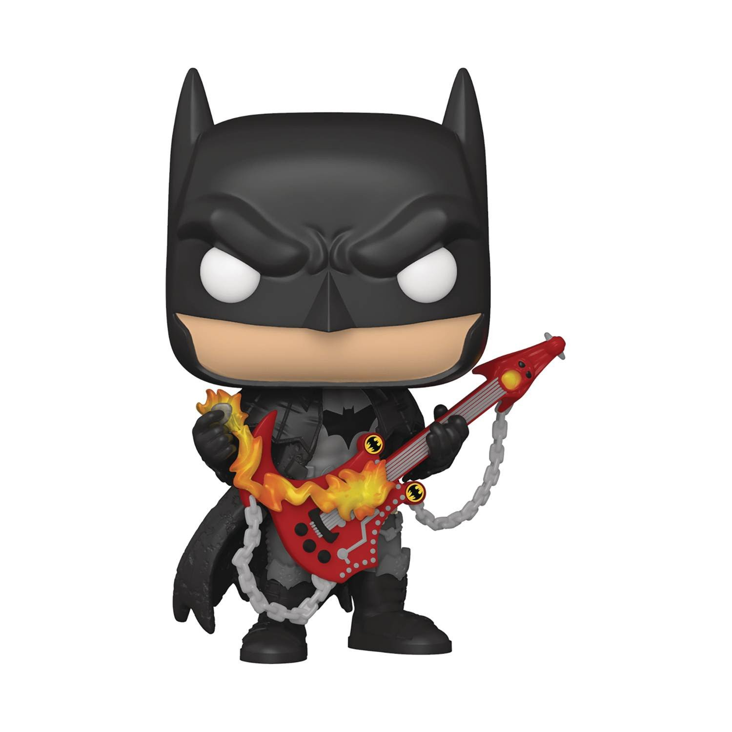 Pops! DC Heroes' Death Metal Batman Figure with Guitar