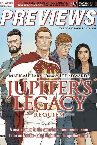 Previews Comic Book Catalog #391 | April 2021