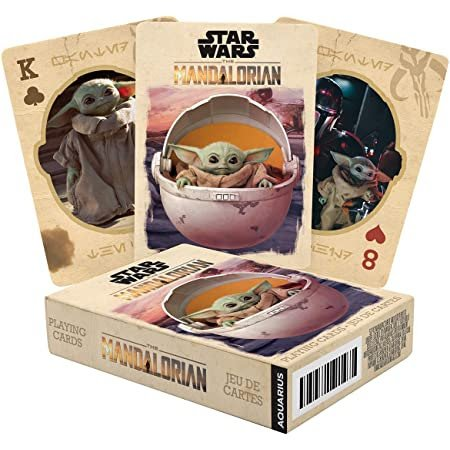 Star Wars - The Mandalorian The Child Playing Cards