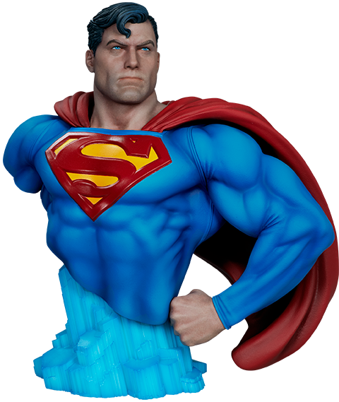 Superman Bust 2 by Sideshow