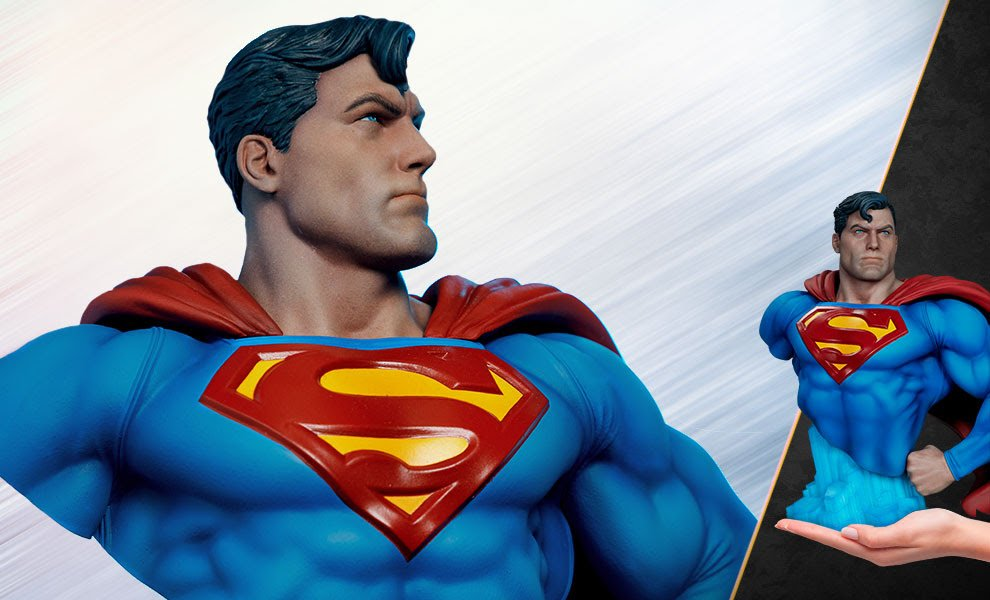 Superman Bust by Sideshow