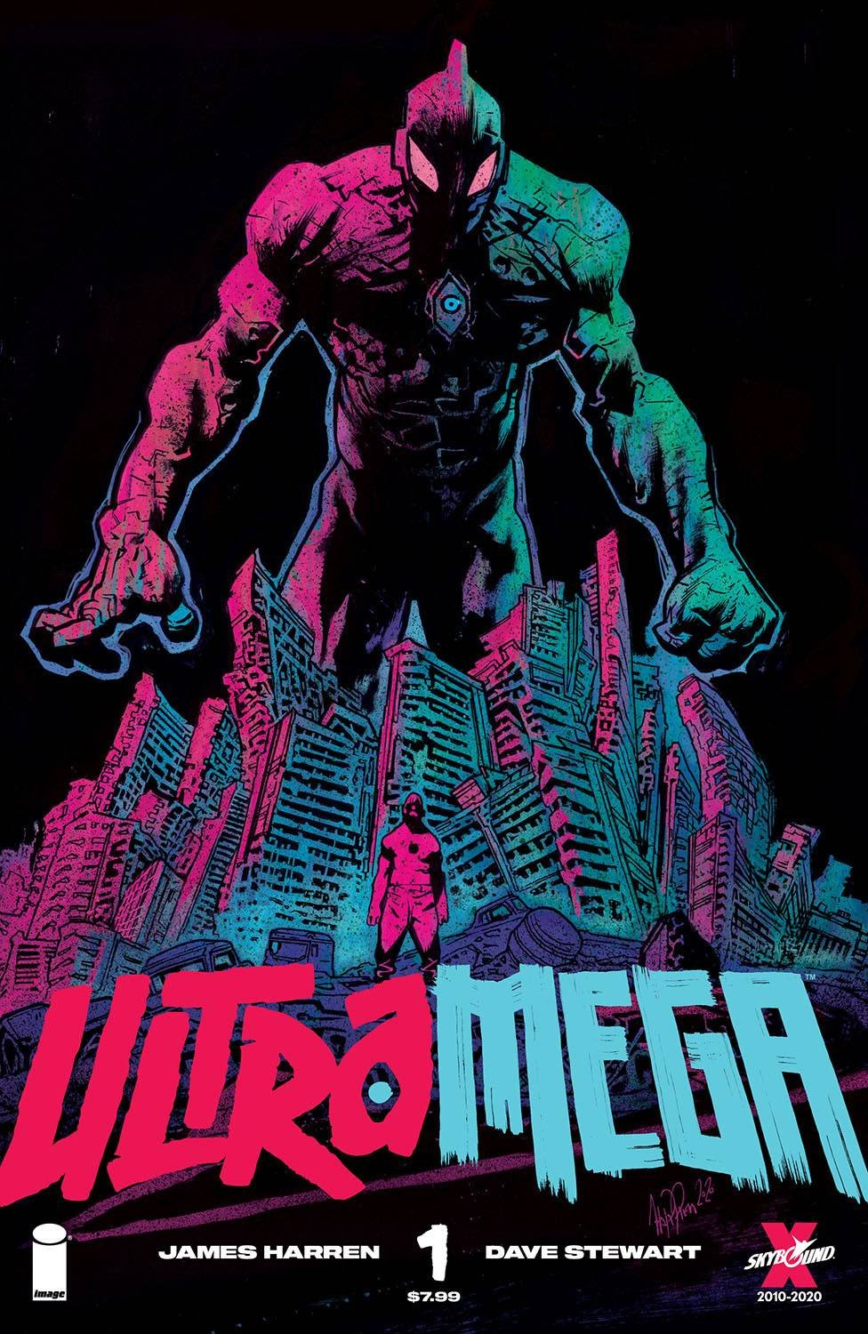 UltraMega #1 By James Harren