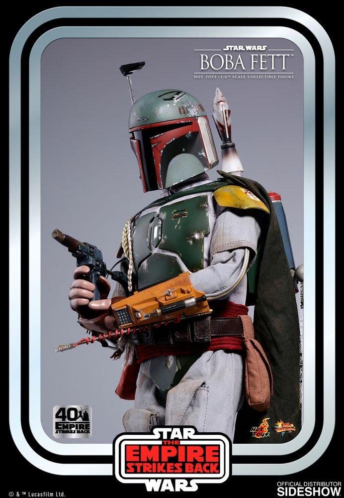 Boba Fett - Star Wars Empire Strikes Back - 40th Anniversary Collection from Hot Toys