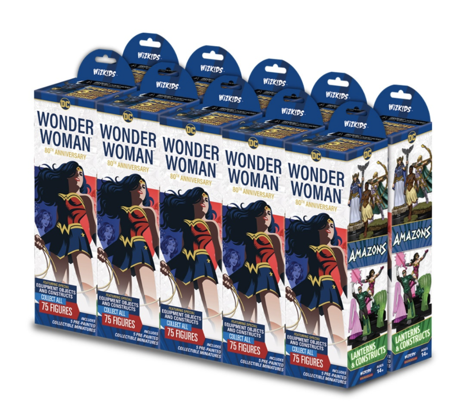 DC Heroclix Wonder Woman 80th Anniversary Boosters