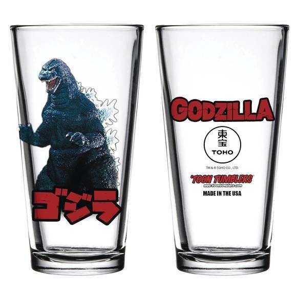 Godzilla Toon Tumblers