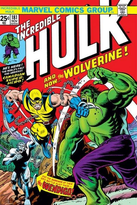 Hulk and Wolverine Poster