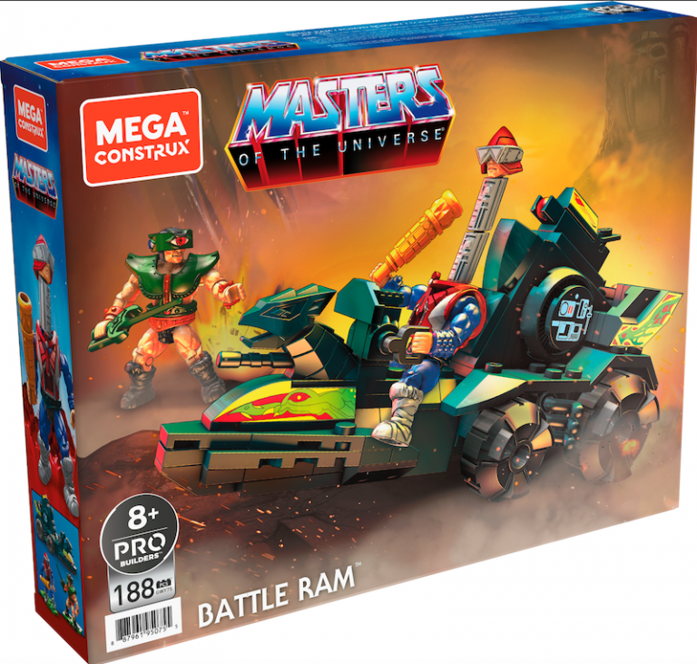 Masters of the Universe Battle Ram from MEGA CONSTRUX