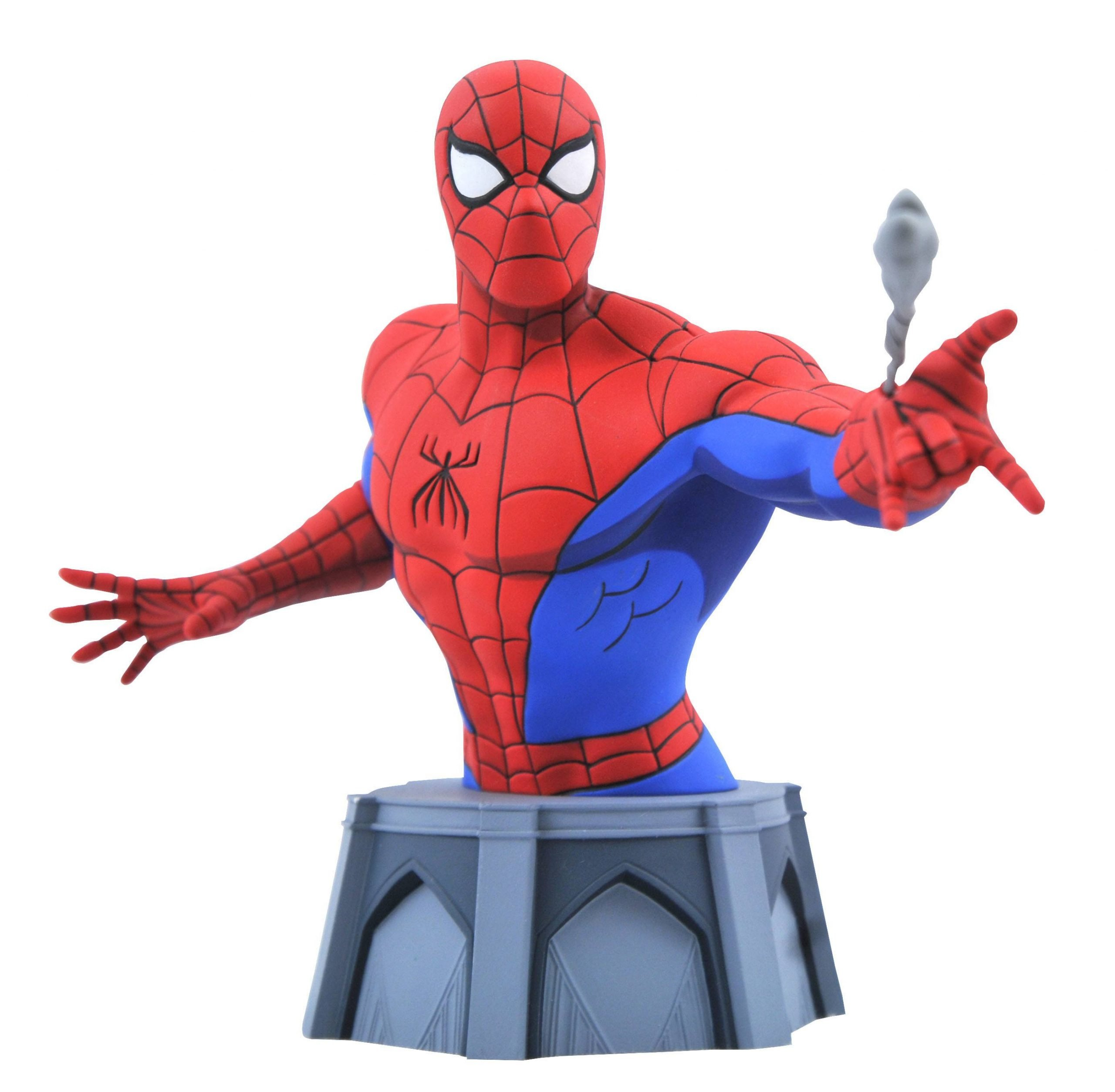 Spider-Man Bust - Animated