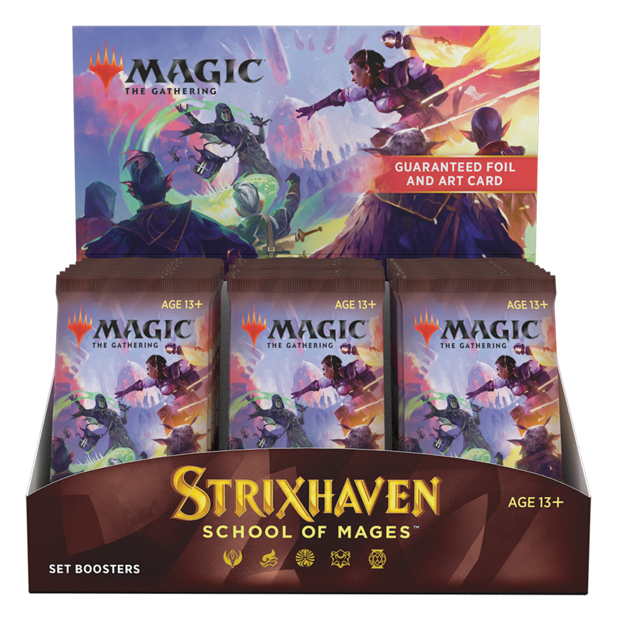 Strixhaven School of Mages | Set Boosters | Magic the Gathering