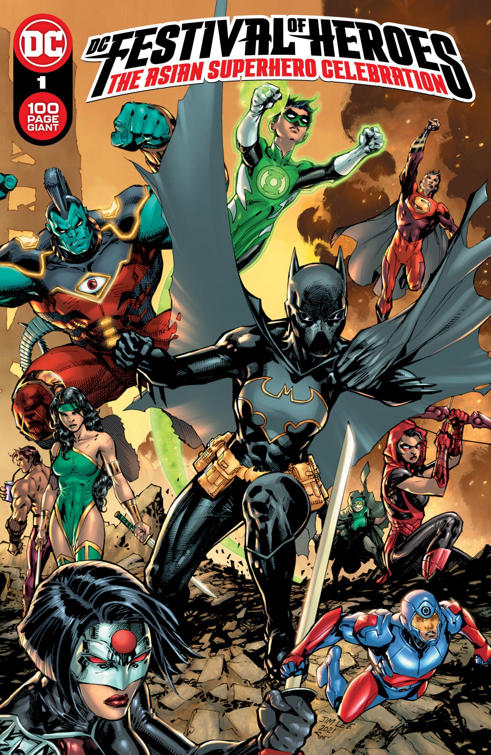 DC Festival Of Heroes - The Asian Superhero Celebration No 1