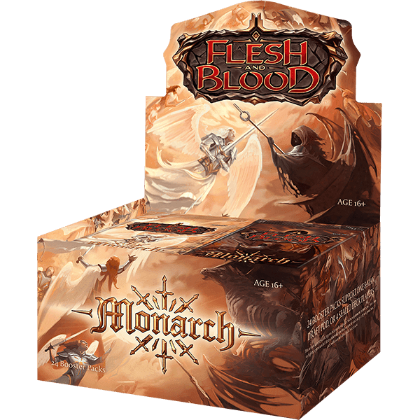 Flesh and Blood TCG - Monarch First Edition Booster Display