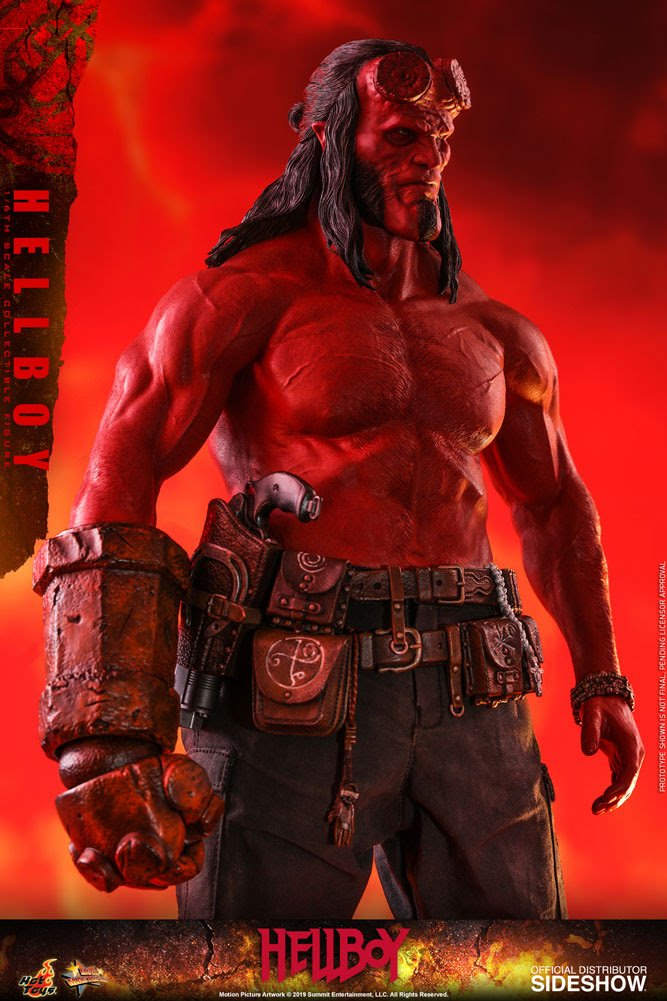 Hellboy Figure by Sideshow