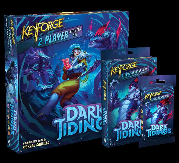 Keyforge Dark Tidings 2 Player Starter Set - Archon Deck