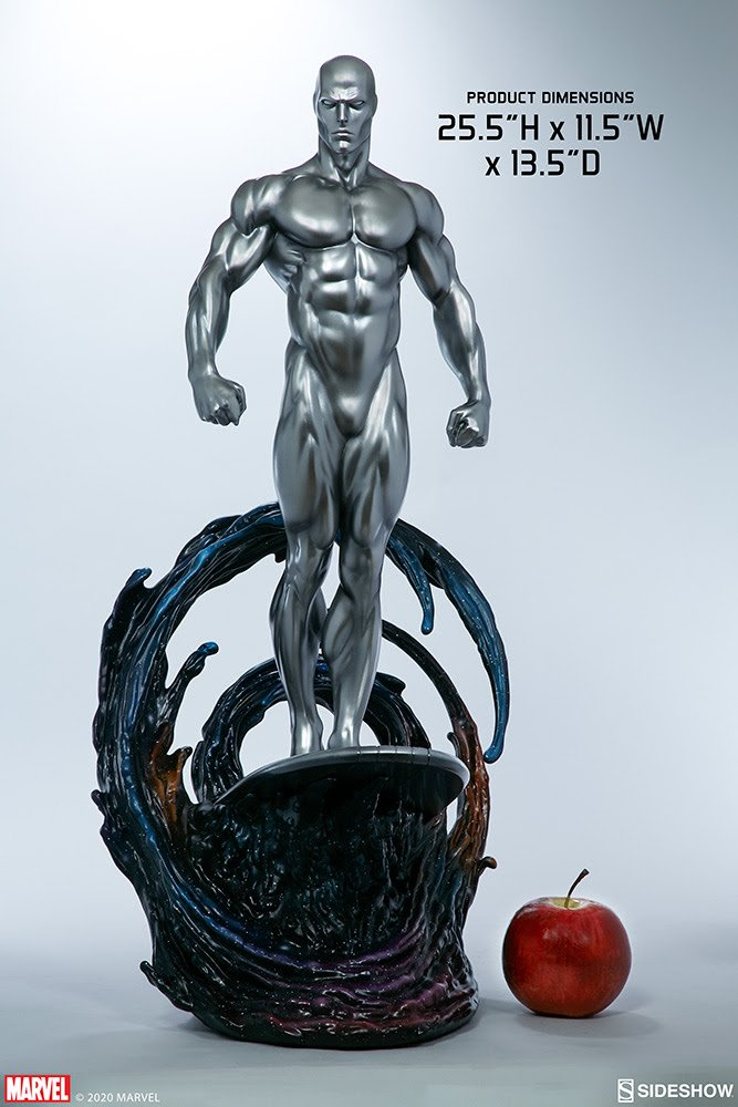 Silver Surfer Maquette by Sideshow