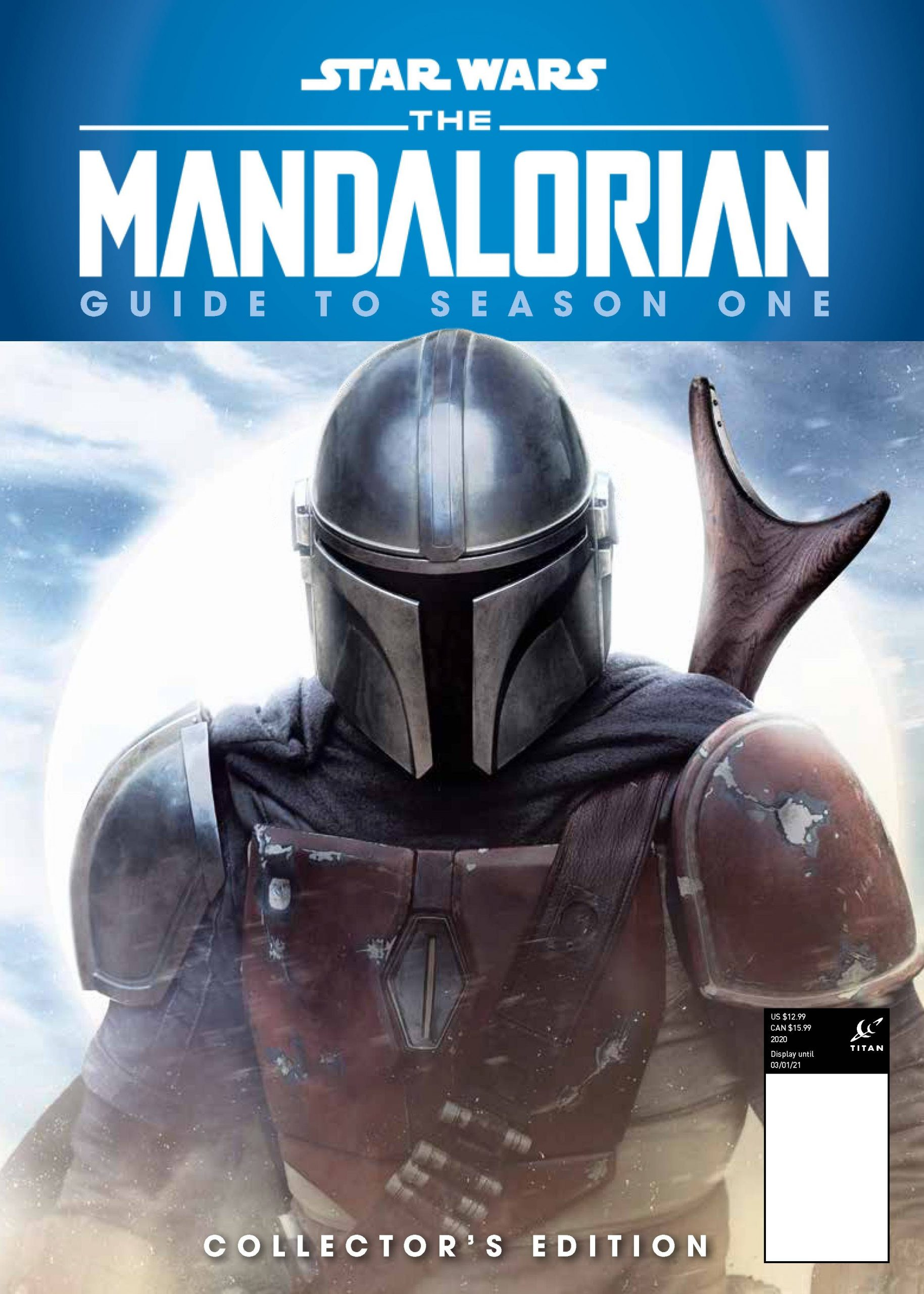 Star Wars The Mandalorian - Guide to Season One Hardcover Book