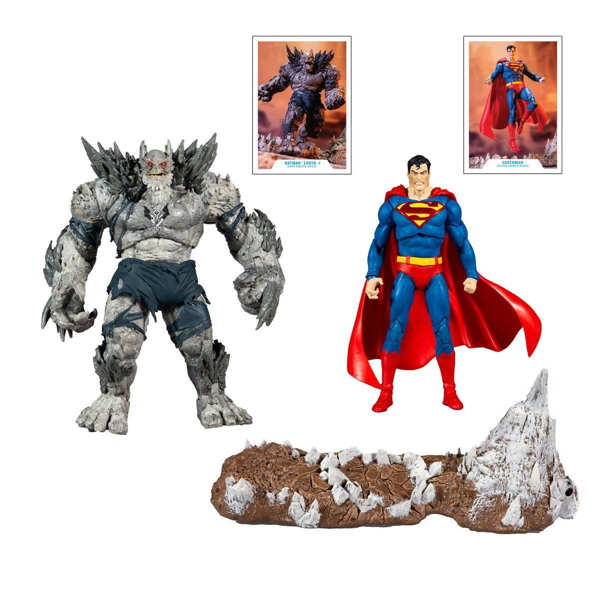 Superman vs Devastator Action Figures