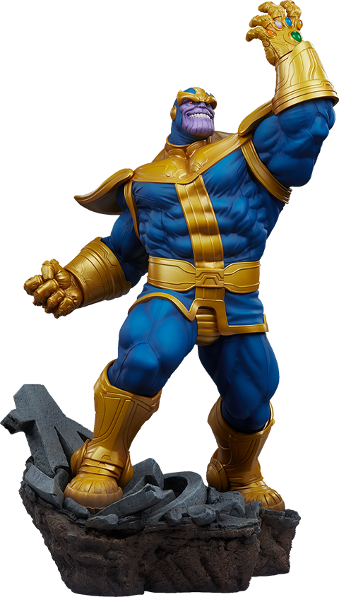 Thanos Classic Avengers Statue by Sideshow