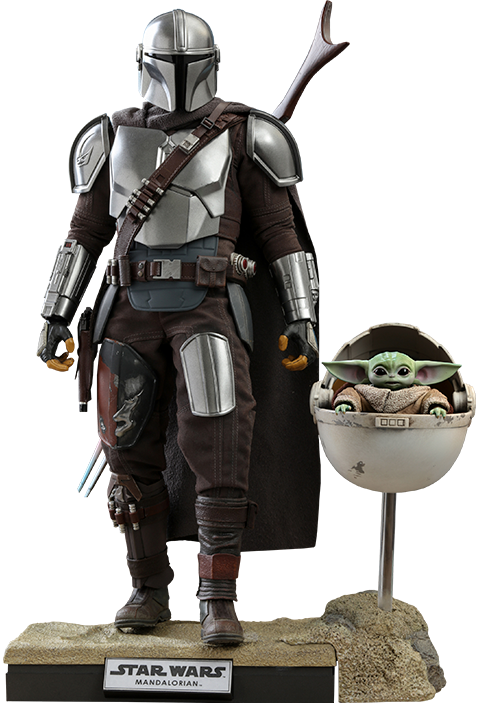 The Mandalorian and The Child Collectible Set from Hot Toys
