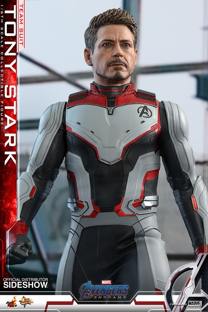 Tony Stark Team Suit Endgame 1-6 Scale Figure