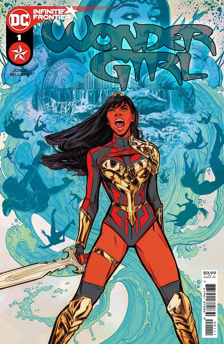 Wonder Girl - Number 1