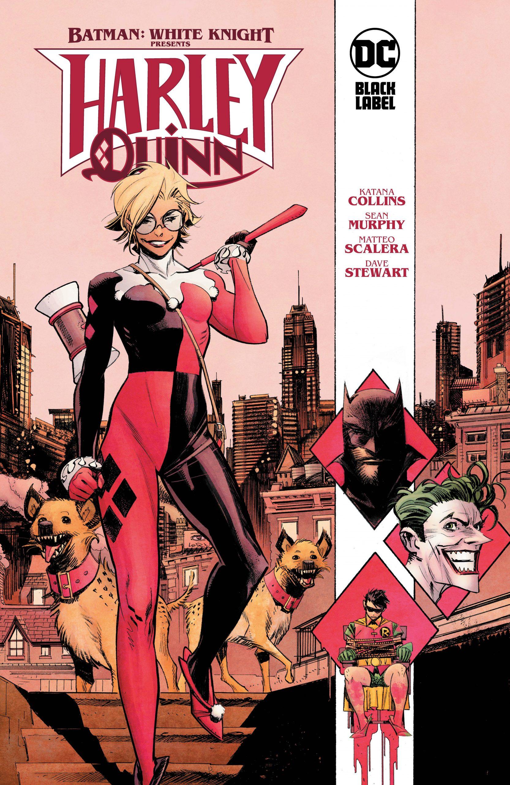Batman-White Knight Presents Harley Quinn HC-DC Black Label