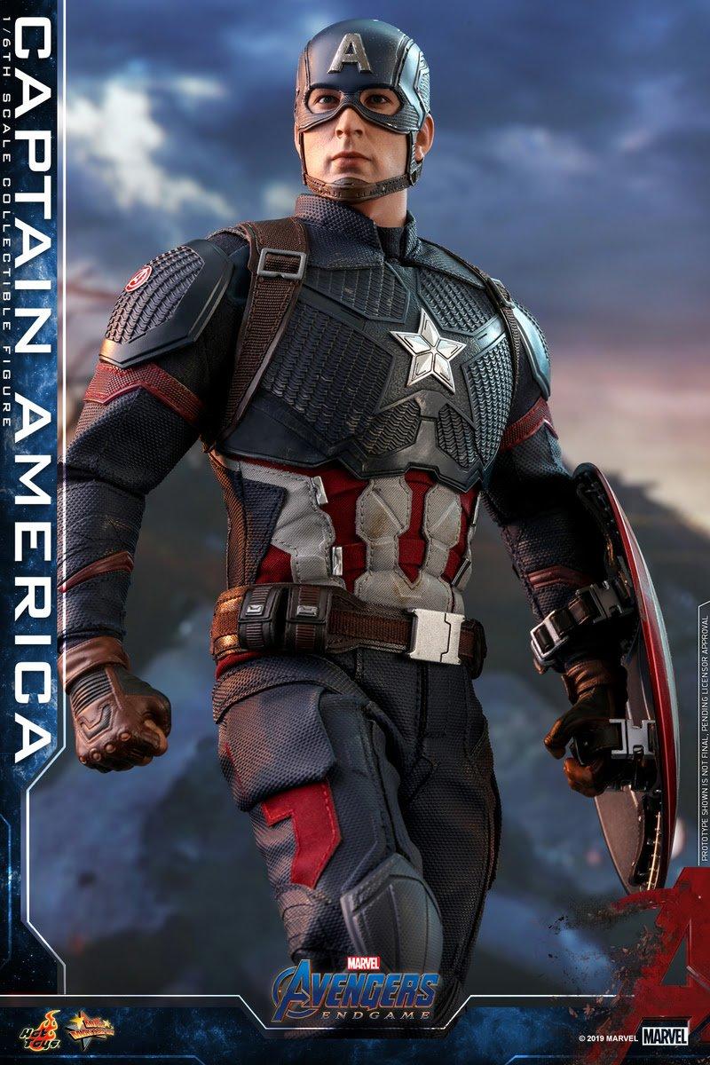 Captain America - Avengers Endgame by Hot Toys
