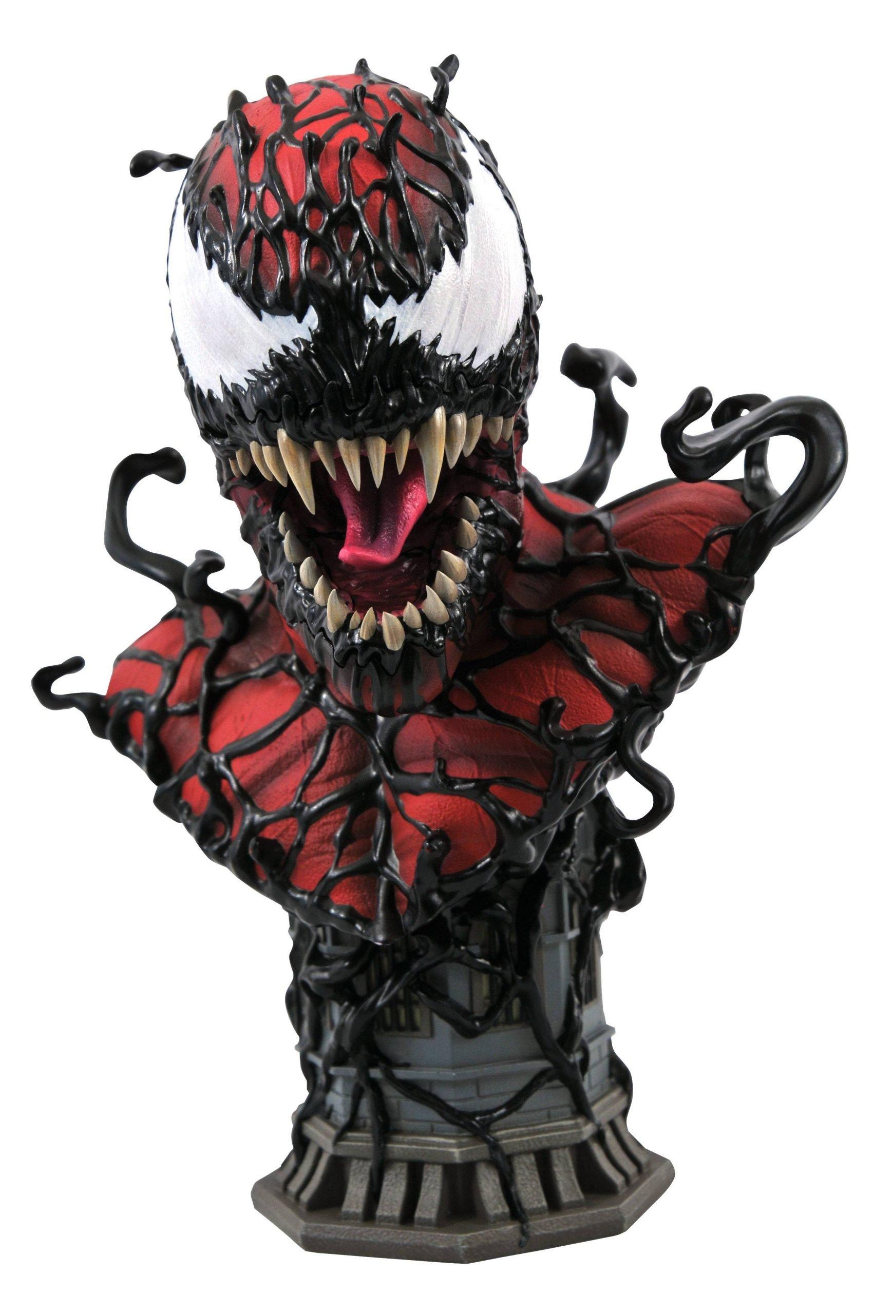 Carnage Half Scale Bust - Marvel Legends in 3D