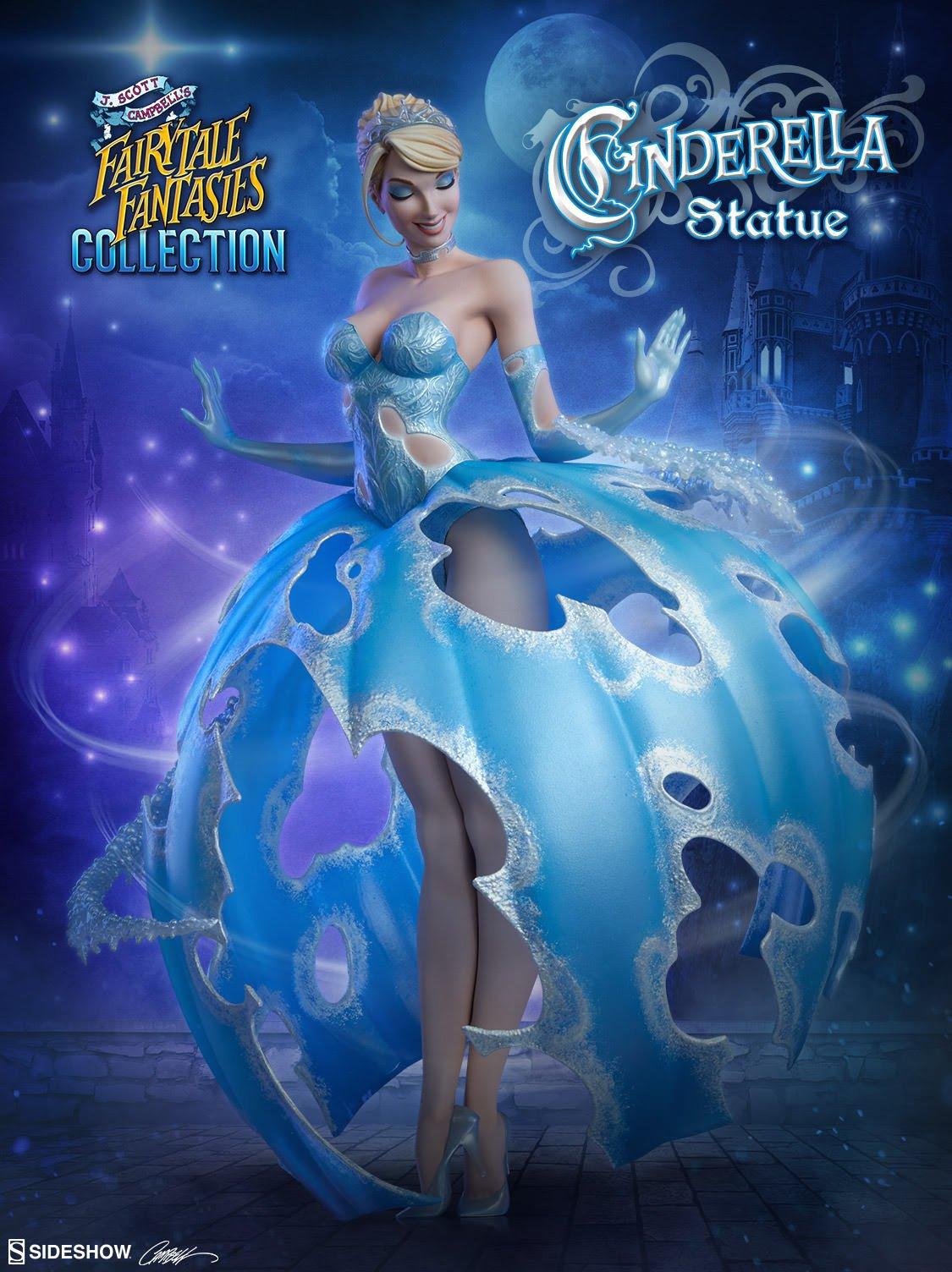 Cinderella Statue by Sideshow