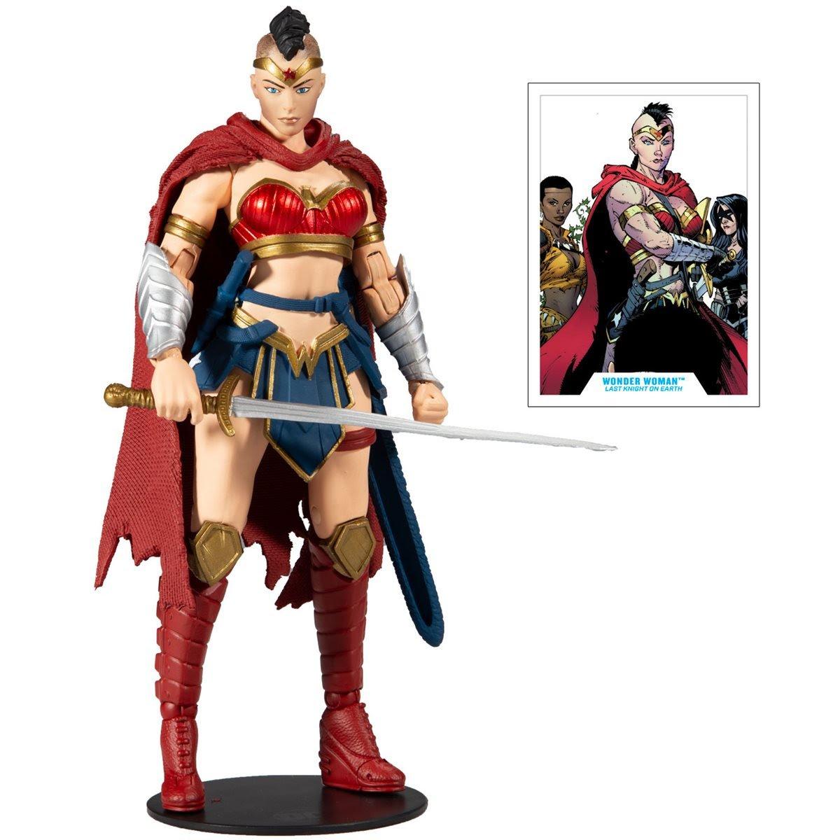 DC Multiverse Wonder Woman Last Knight on Earth
