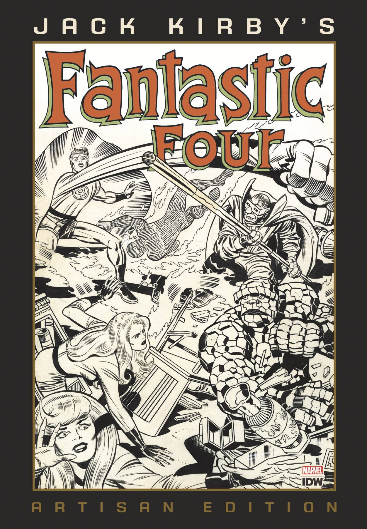 Jack Kirbys Fantastic Four - Artisan Edition
