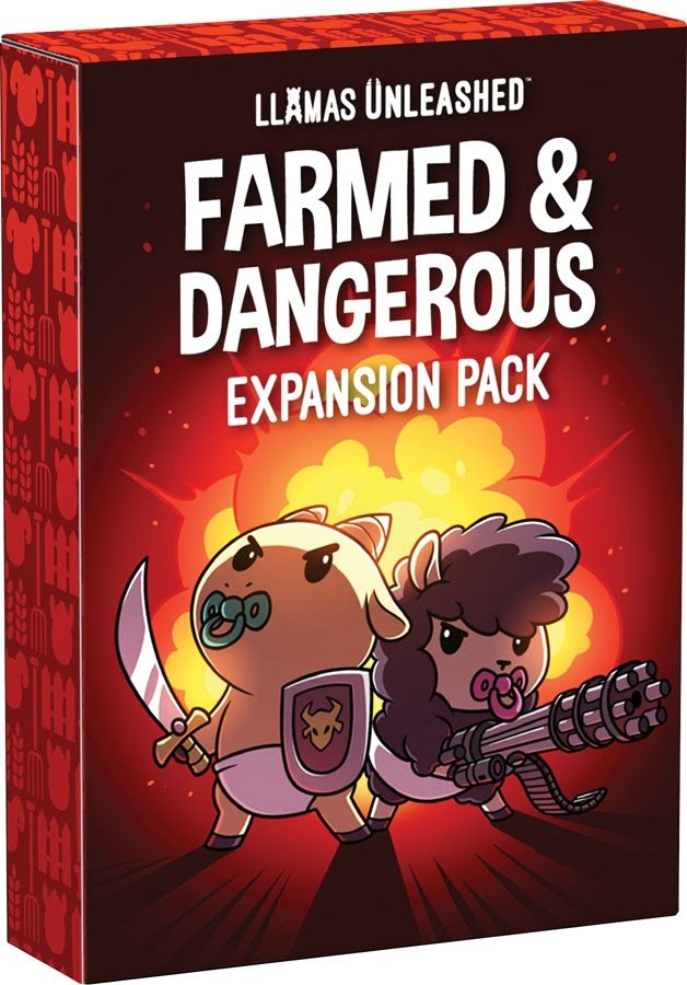 Llamas Unleashed - Farmed and Dangerous Expansion Pack