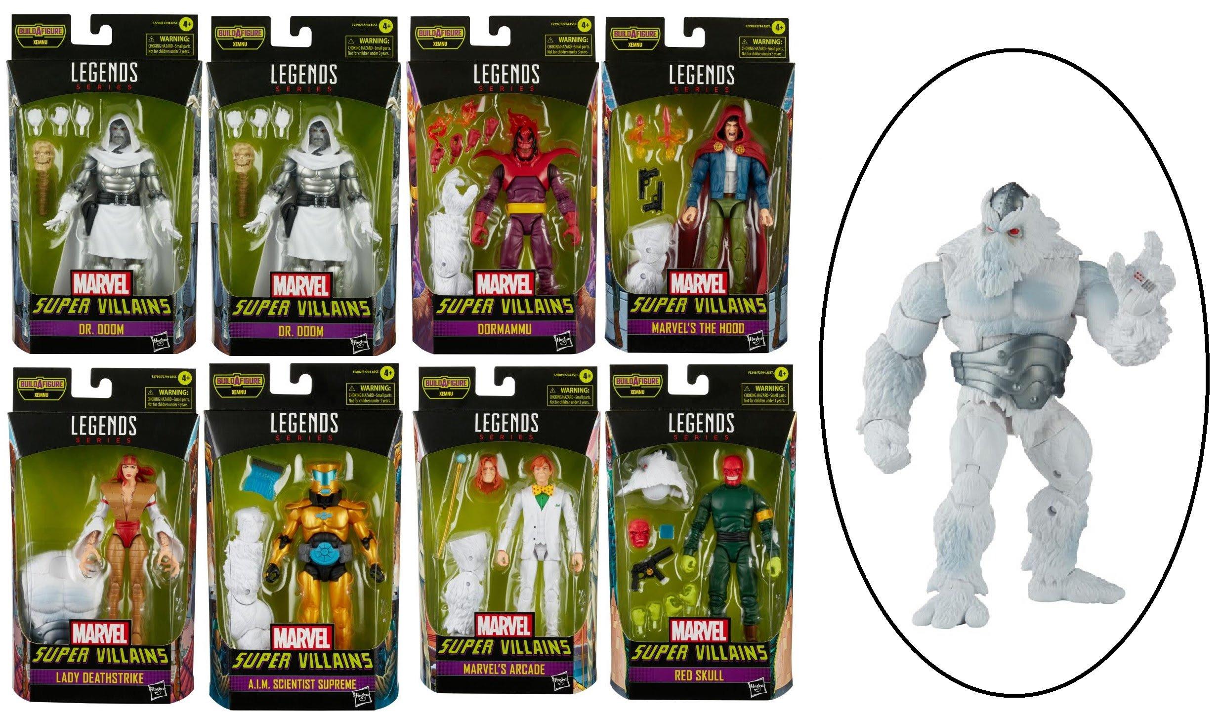 Marvel Legends - Supper Villians Action Figures