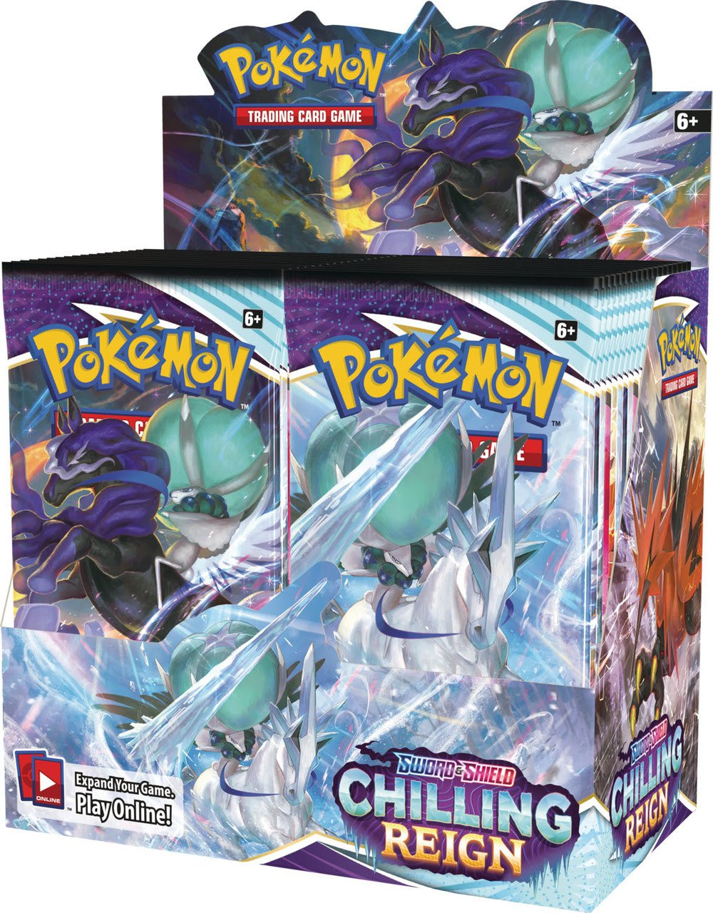 Pokemon - Sword and Sheild - Chilling Reign