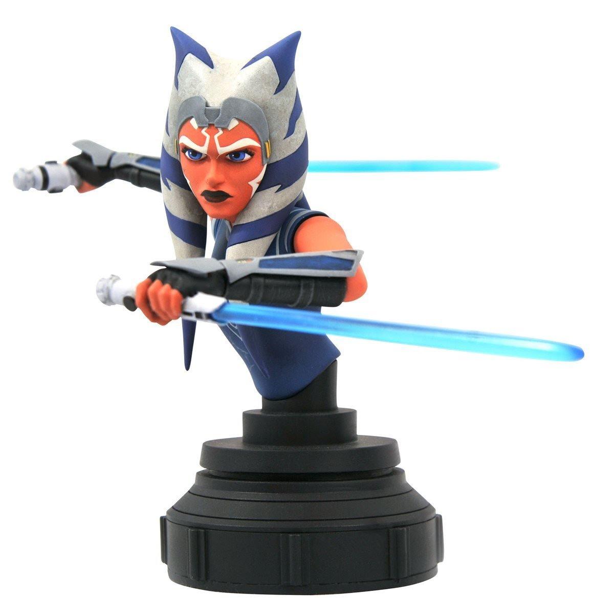 Star Wars - Clone Wars - Ahsoka 1-7 Scale Bust